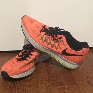 Orange Nike's